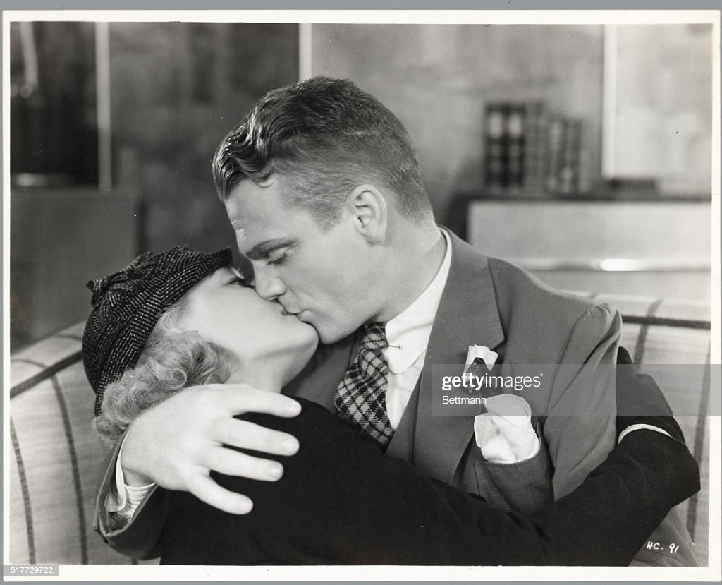 James Cagney Appearing with Bette Davis : News Photo
