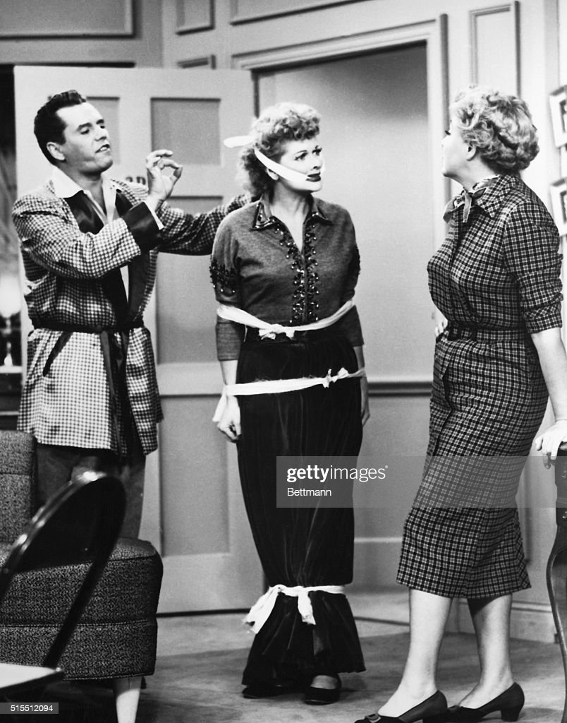 Picture Shows A Scene From The Tv Series I Love Lucy Lucille