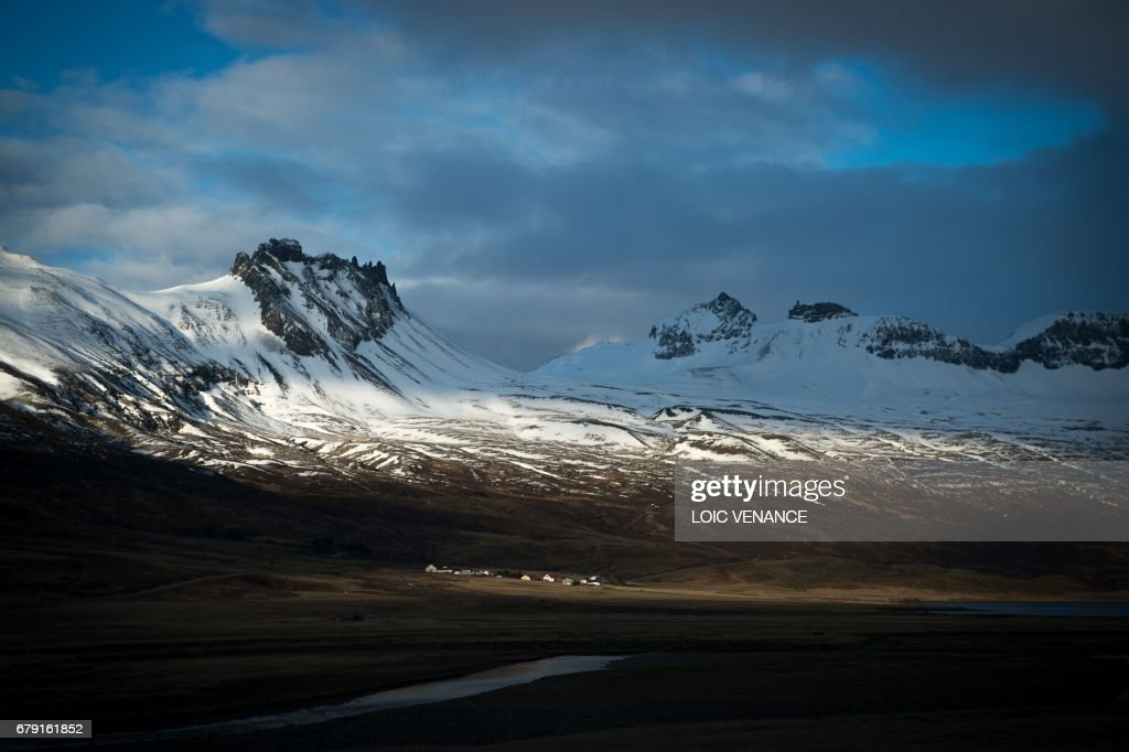 ICELAND-LANDSCAPE-RELIGION-FEATURE : News Photo