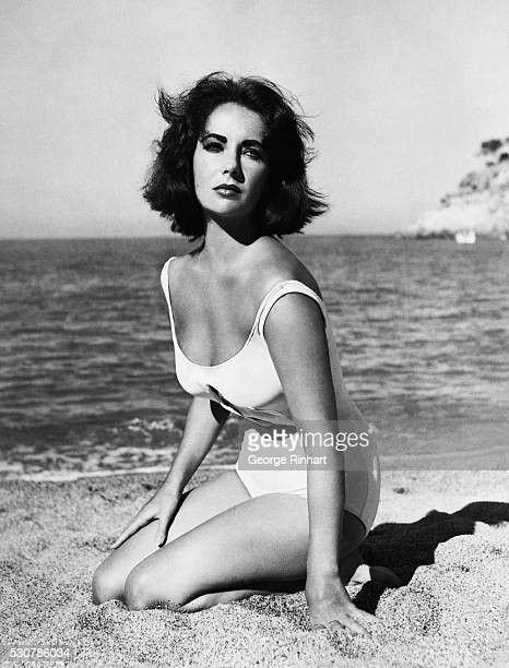 Picture shows actress Elizabeth Taylor in a scene from the movie Suddenly last summer directed by Joseph L Mankiewicz Undated photo circa 1959