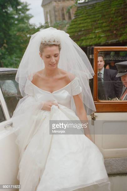 Picture shows Alison Bird on her wedding day as she marries Gareth Southgate Gareth Southgate English footballer who has played for Crystal Palace...
