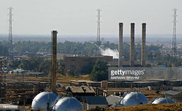 A picture shows an oil refinery in the oil rich city of Kirkuk north of Baghdad 13 December 2007 A High ranking Iraqi official in the Northern...