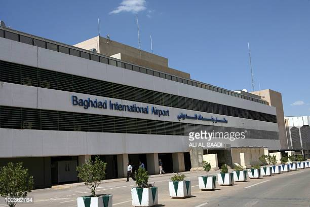 A picture shows Baghdad International Airport on April 24 2010 More than a decade of UN sanctions followed Saddam Hussein's August 1990 invasion of...