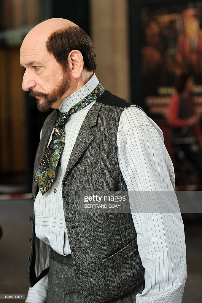 Picture shows British actor Sir Ben King : News Photo