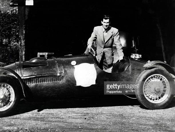 Picture shows David Blakely pictured in his car in 1955 murdered by his former lover Ruth Ellis outside a Hampstead London pub in April 1955 Ellis...
