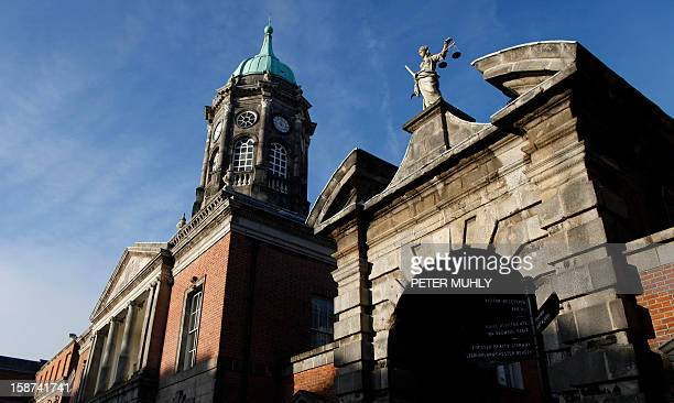 A picture shows Dublin Castle in Dublin Ireland on December 18 2012 where most meetings will take place when Ireland assumes the rotating presidency...