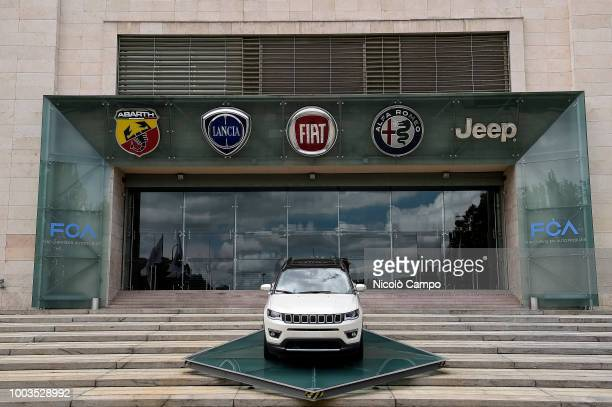 A picture shows Fiat Mirafiori building On July 21 FCA board discuss succession of CEO Sergio Marchionne The media said that Richard Palmer Alfredo...