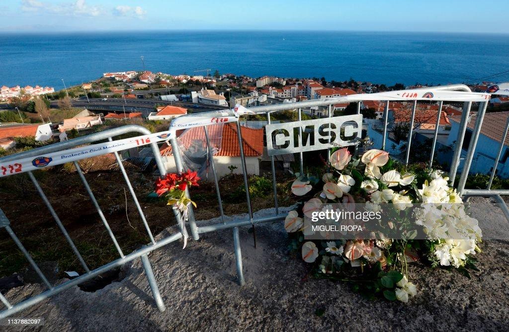 PORTUGAL-GERMANY-ACCIDENT-TOURISM : Nachrichtenfoto
