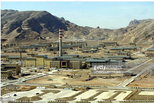 Picture shows general view of Isfahan nuclear power plant 295 km from Tehran 30 March 2005. AFP PHOTO/HENGHAMEH FAHIMI