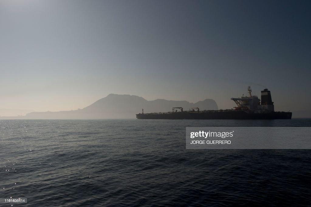 SPAIN-BRITAIN-US-IRAN-DIPLOMACY-OIL-RULING : News Photo