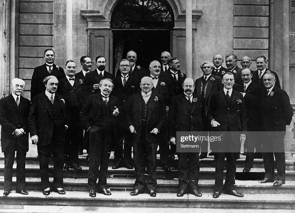 Members Of The League Of Nations : News Photo
