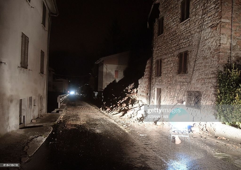 ITALY-QUAKE : News Photo