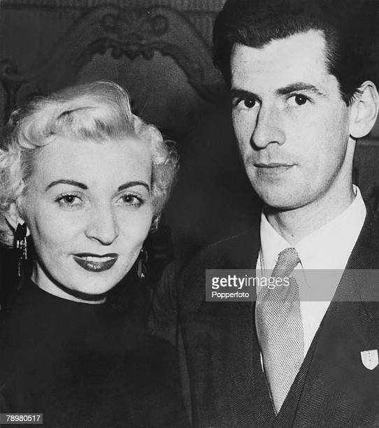 Picture shows Ruth Ellis found guilty of the murder of her former love David Blakeley outside a Hampstead London pub in April 1955 Ellis was hanged...