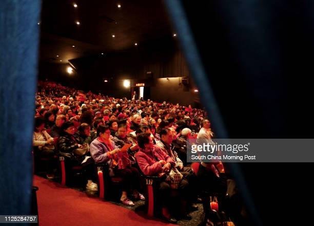 A picture shows the audience hall inside the Sunbeam theatre Sunbeam Theatre where Feng Sheng Hui Theatre preforms their last show 'the Lion's Roar'...