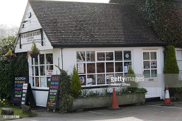Picture Shows 'The Bladebone Butchery' In The Village Of Bucklebury, Berkshire, United Kingdom The Home Of Kate Middleton'S Parents Michael And...