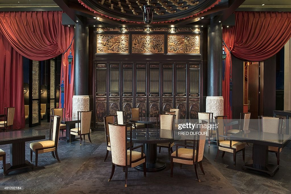 A Picture Shows The Chinese Restaurant In Peninsula Paris Hotel On
