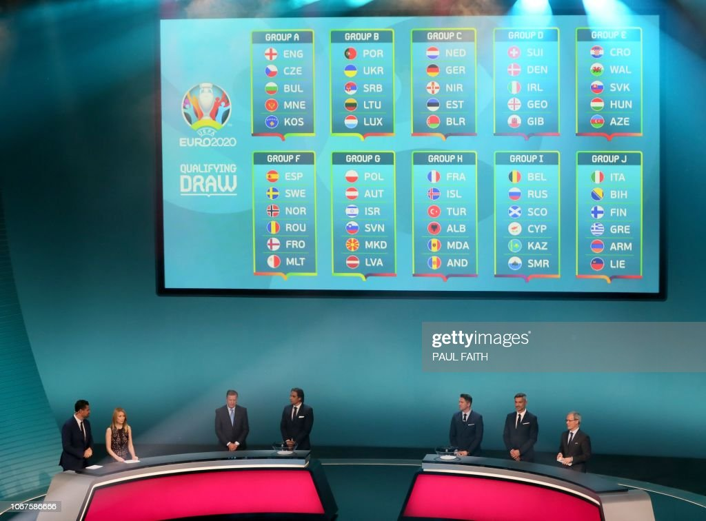 FBL-EUR-EURO-2020-DRAW : News Photo