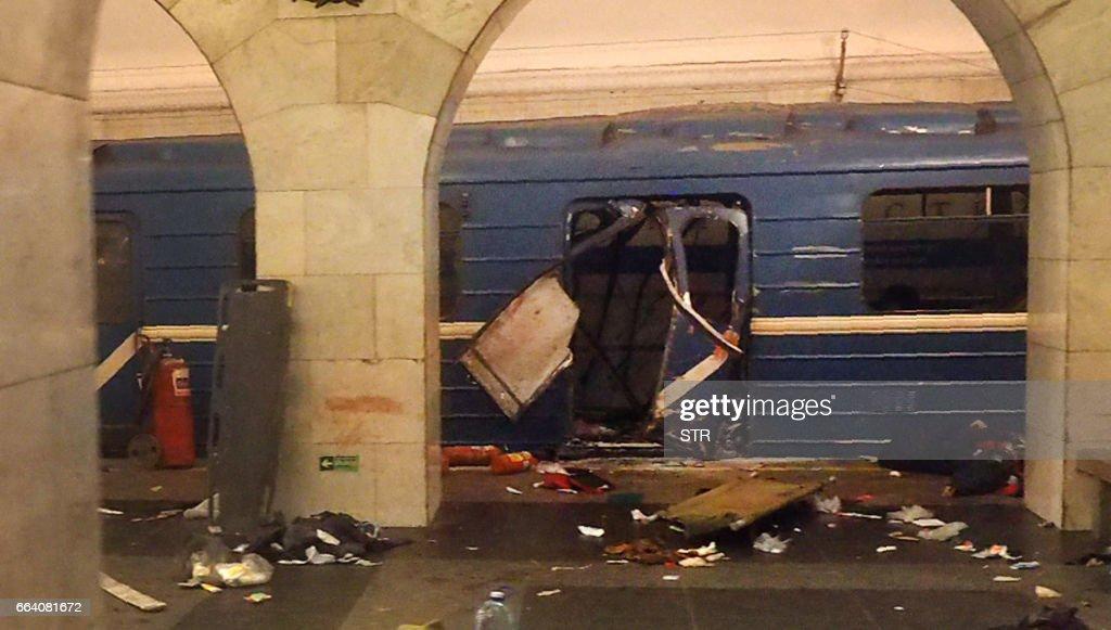 RUSSIA-METRO-BLAST : News Photo