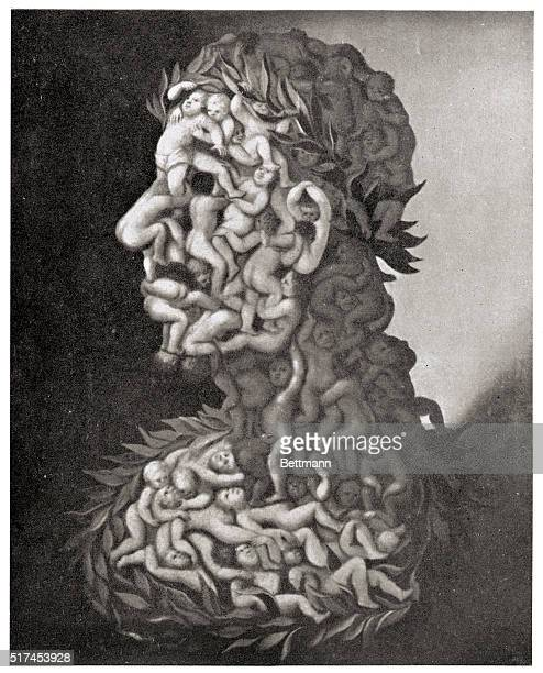 Picture shows the Erode a painting by Guiseppe Arcimboldi BPA2# 1601