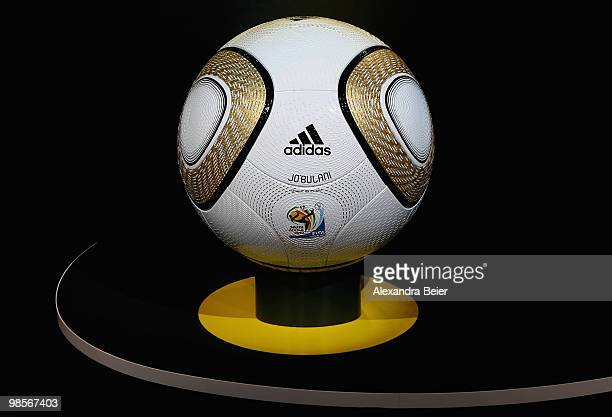 Picture shows the FIFA World Cup 2010 final match ball presented on April 20 2010 in Herzogenaurach Germany
