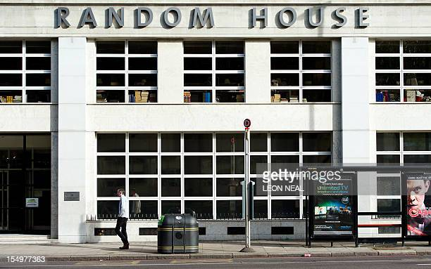 Picture shows the headquarters of publishers Random House in Central London on October 29, 2012. Penguin and Random House are to merge to create a...
