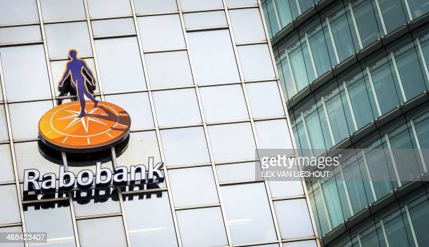 Picture shows the headquarters of Rabobank in Utrecht on January 27, 2014 as Rabobank membership certificates were launched at the stock exchange of...