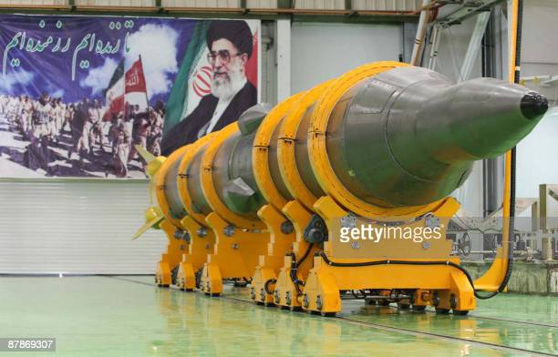 A picture shows the new mediumrange surface to surface missile named Sejil2 at an undisclosed location in Iran prior to its testfiring on May 20 2009...