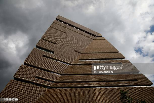 A picture shows the part of the Tate Modern gallery that houses the viewing platform level in central London on August 5 2019 A sixyearold boy thrown...