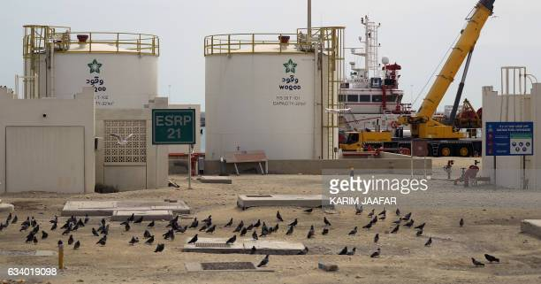 A picture shows the Ras Laffan Industrial City Qatar's principal site for production of liquefied natural gas and gastoliquid administrated by Qatar...