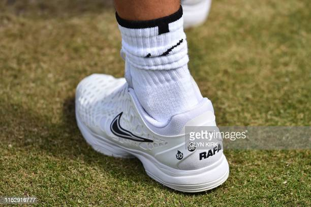537 Rafael Nadal Shoes Photos And Premium High Res Pictures Getty Images