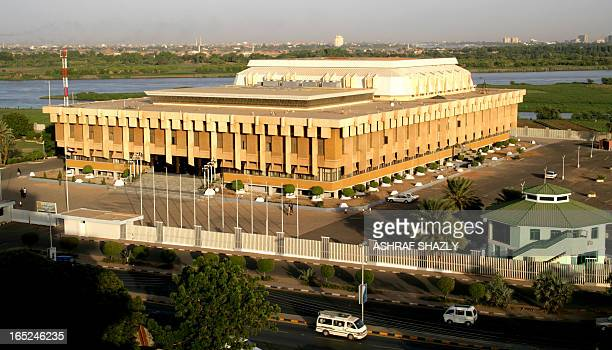 A picture shows the Sudanese parliament in the capital Khartoum on April 13 2010 AFP PHOTO /ASHRAF SHAZLY