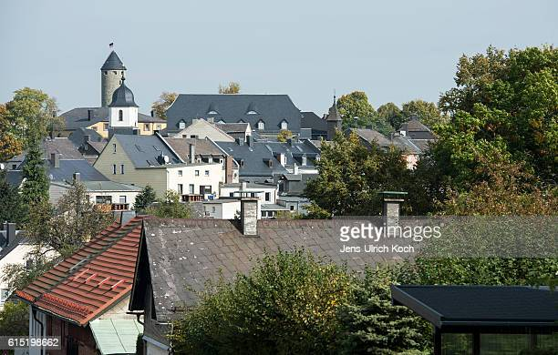 Picture shows the town of Lichtenberg in Bavaria Germany on October 17 2016 Peggy Knobloch a nineyearold disappeared on her way home from school in...