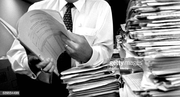 Picture shows Thomas Jambrich Auditor General's Office AUASB 25 February 1999 AFR Picture by JIM RICE