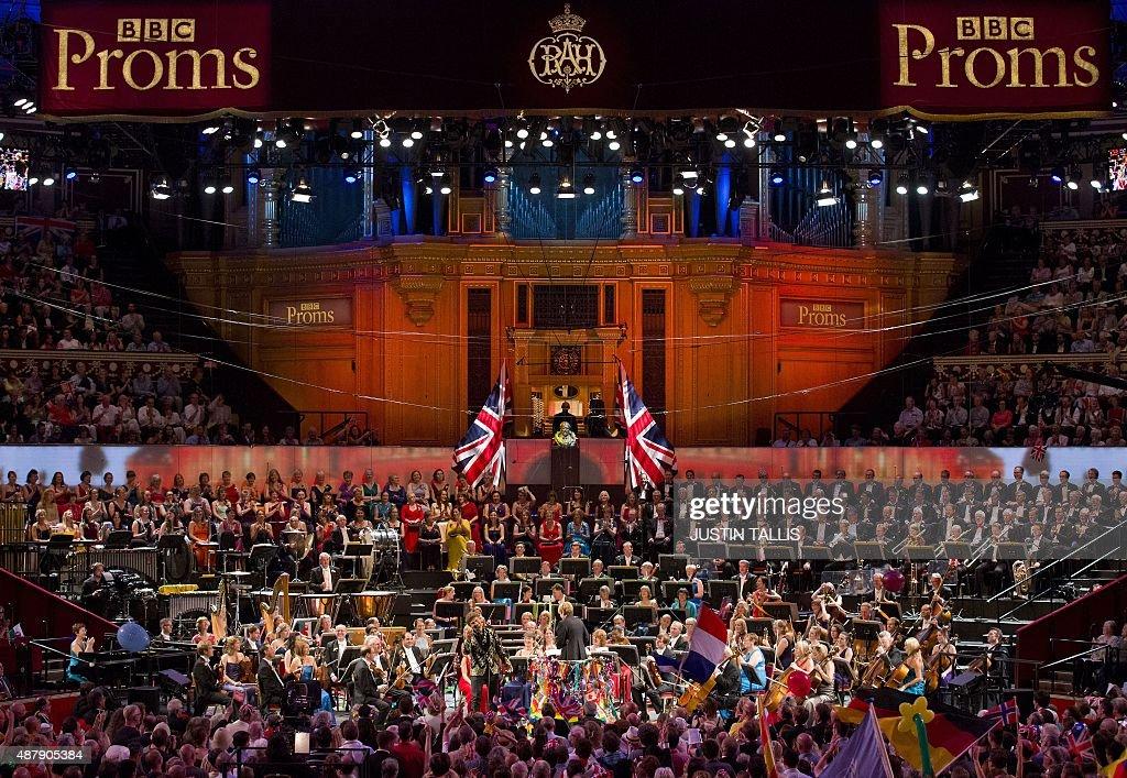 BRITAIN-ENTERTAINMENT-MUSIC-FESTIVAL-PROMS : News Photo