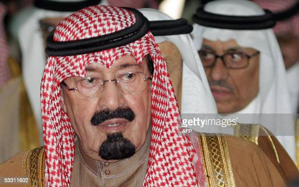 Picture taken 25 December 2004 shows Saudi Crown Prince Abdullah bin Abdul Aziz in Riyadh The popular crown prince has been named ruler of the...