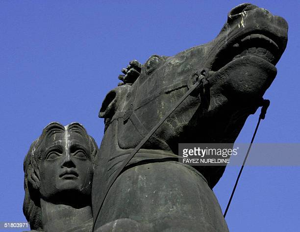 A picture taken 26 November 2004 shows a statue of Alexander the Great in the northern Greek city of Salonica A group of Greek lawyers has asked an...