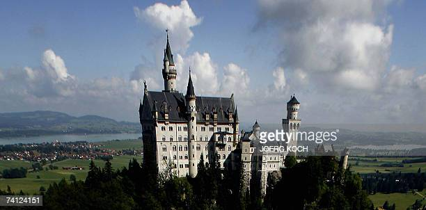 FILES A picture taken 30 June 2006 shows the fairy tale castle Neuschwanstein near Schwangau Bavaria A speaker of the castle said 08 May 2007 to AFP...