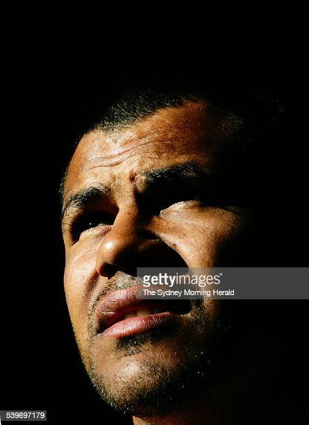 Picture taken at Parramatta Stadium where the Eels where training A portrait of Dean Widders 7 September 2005 SMH Picture by CRAIG GOLDING