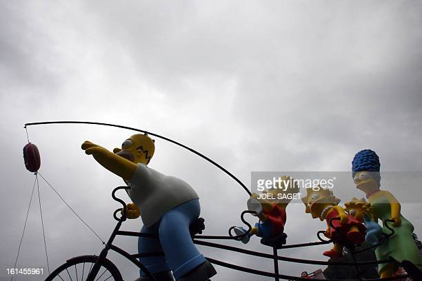 Picture taken before the start of the fourth stage of the 94th Tour de France cycling race between VillersCotterets and Joigny 11 July 2007 shows the...