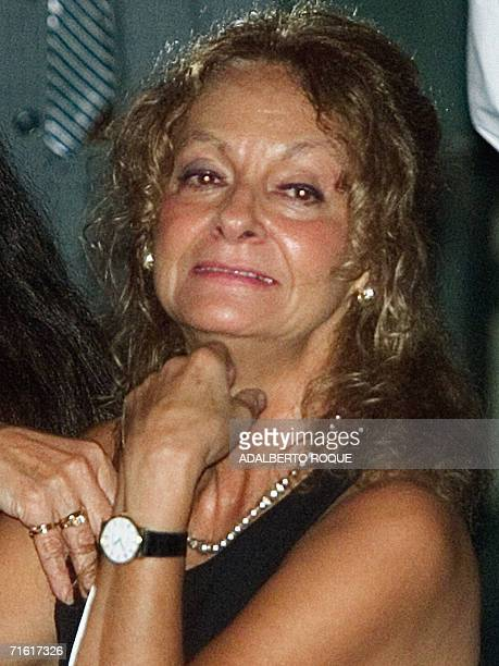 S 80 ANNIVERSARY Picture taken February 2001 of Dalia Soto del Valle wife of Cuban President Fidel Castro during the Cigar Festival in Havana AFP...