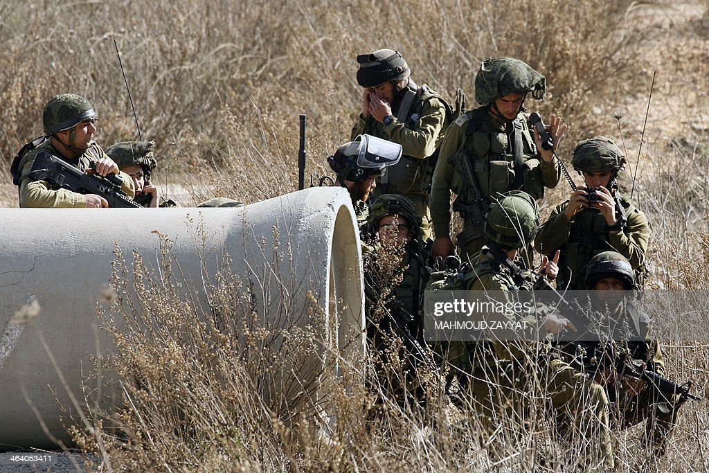 ISRAEL-LEBANON-ARMY-CONFLICT-SECURITY : News Photo