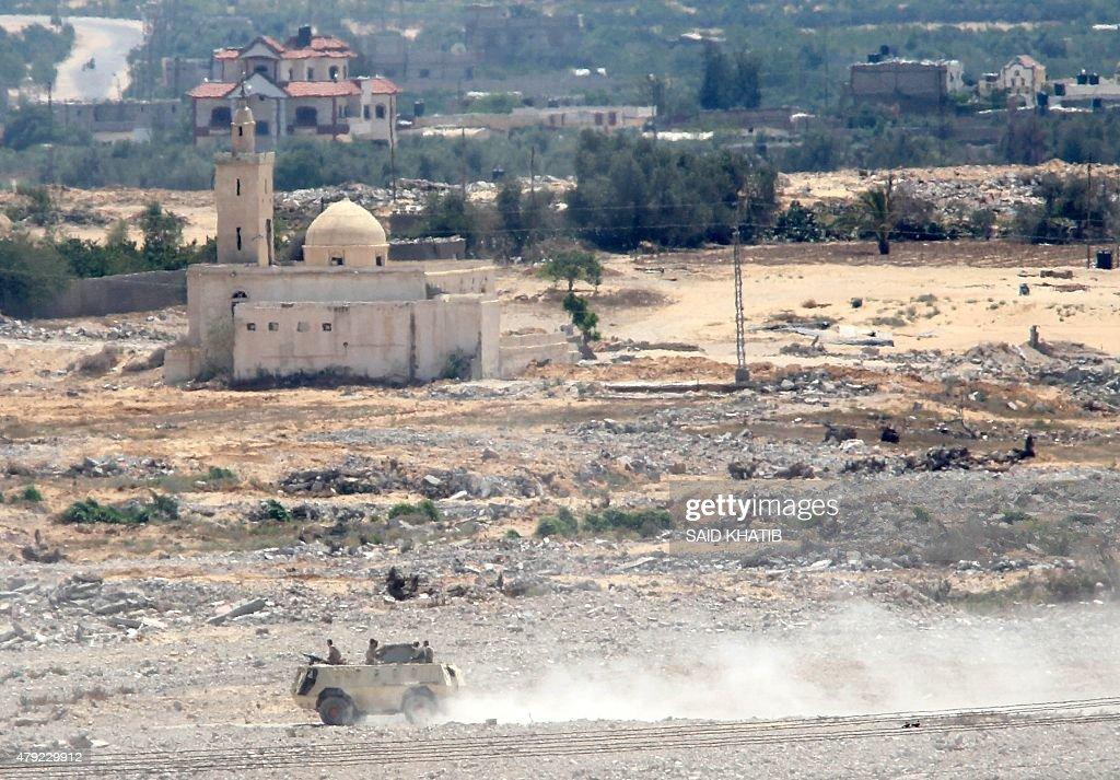 EGYPT-SINAI-GAZA-UNREST : News Photo