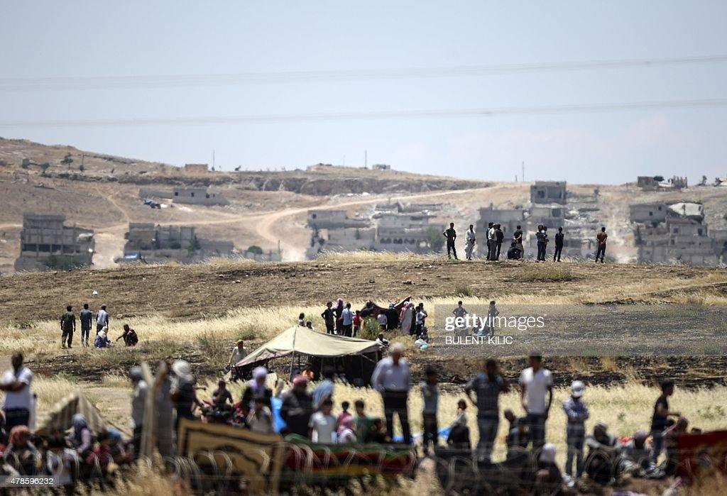 TURKEY-SYRIA-IS-KURDS-CONFLICT : News Photo