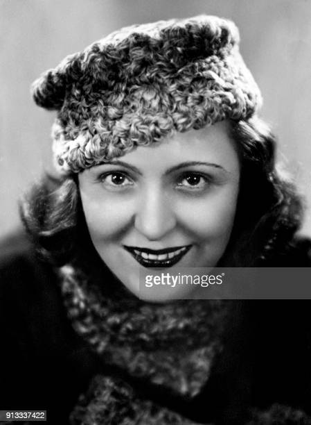 Picture taken in 1935 of French actress Marie Bell / AFP PHOTO /