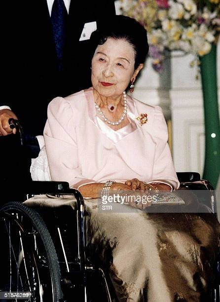 Picture taken in 2002 shows Princess Kikuko at the age of 90 Princess Kikuko the aunt of Emperor Akihito died in a Tokyo hospital of blood poisoning...