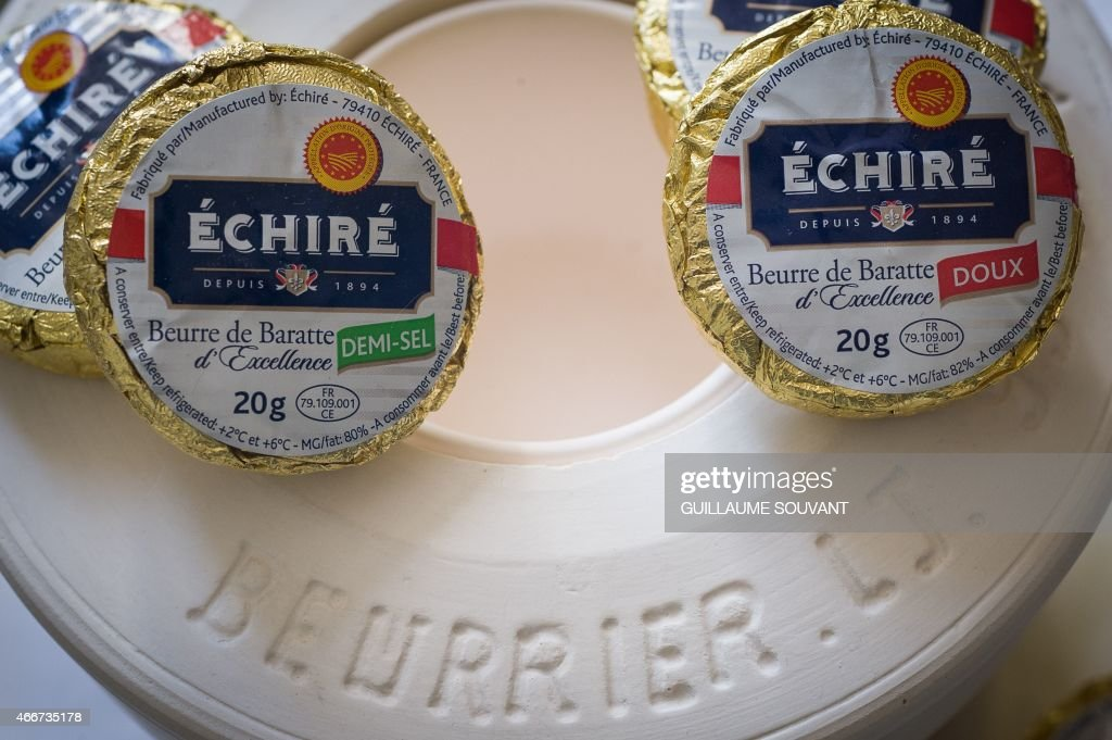 FRANCE-MILK-QUOTAS-BUTTER : News Photo