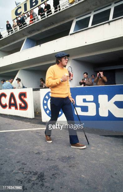 Picture taken in April 1970 of US actor Steve McQueen during The Mans 24 hour race. AFP PHOTO