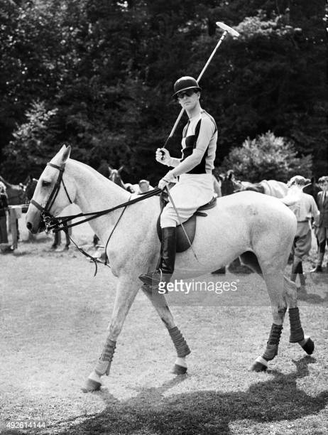 Picture taken in the 50's of Philip the Duke of Edinburgh, husband of Queen Elisabeth II.