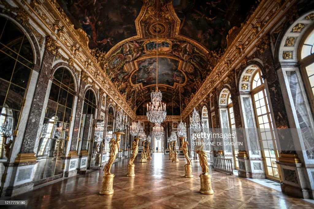 A Picture Taken In The Chateau De Versailles In Versailles Near News Photo Getty Images