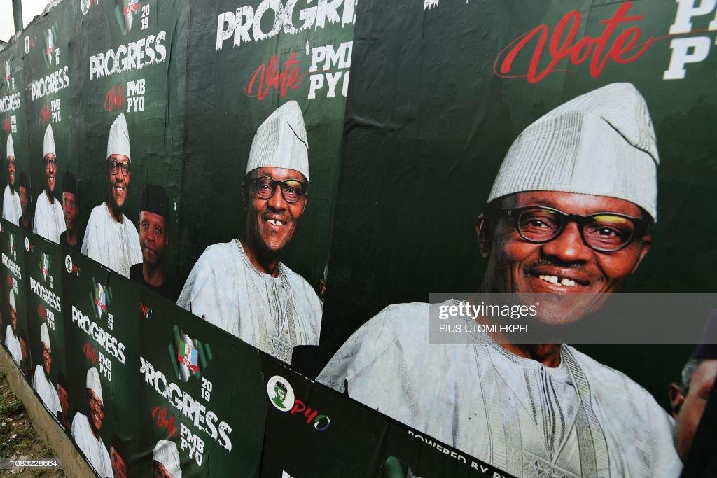 NIGERIA-VOTE-POLITICS : News Photo